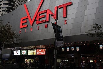 Event Cinemas is the largest film exhibitor in Australia and New Zealand.