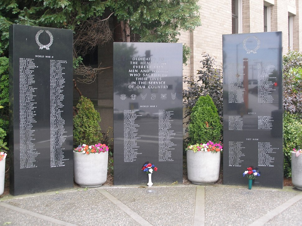Everett - War Memorial