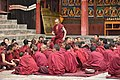 Examination of monks, Tashilhunpo Monastery, Shigatse, Tibet (9).jpg