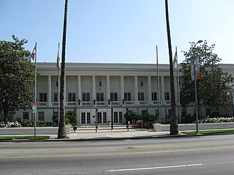 Old Warner Brothers Studio - Image: Executive Office Bldg Old Warner Bros Studio now KTLA comd