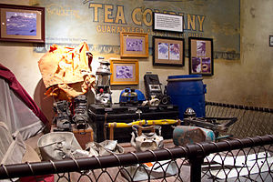 "Expedition Everest - Artifacts from the ""lost expedition""."