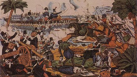 Siege of Constantine (1836) during the French conquest of Algeria. Expeditionconstantine.jpg