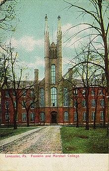Franklin Marshall College Wikipedia