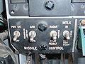 F-4N cockpit simulator PCAM missile control panel.JPG