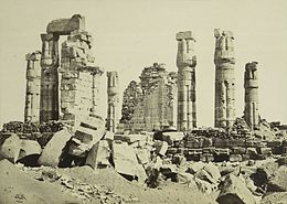 F. Frith - The Temple of Soleb, Ethiopia.jpg