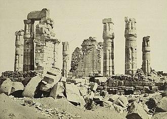 Soleb - Image: F. Frith The Temple of Soleb, Ethiopia