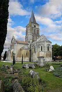 church located in Charente-Maritime, in France