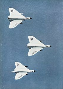 F4D Skyrays VF-213 in flight 1959.jpg