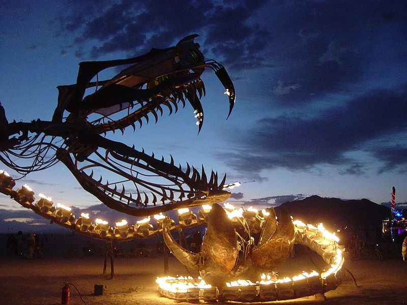 see: Burning Man Festival (Nevada)