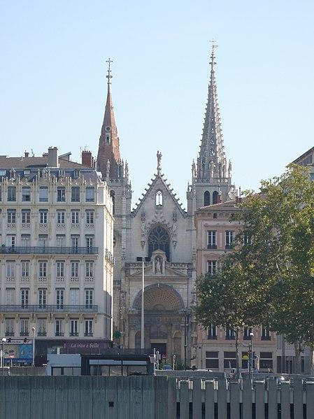 File:Façade de l'église Saint-Nizier de Lyon vue par quai Rolland.jpg