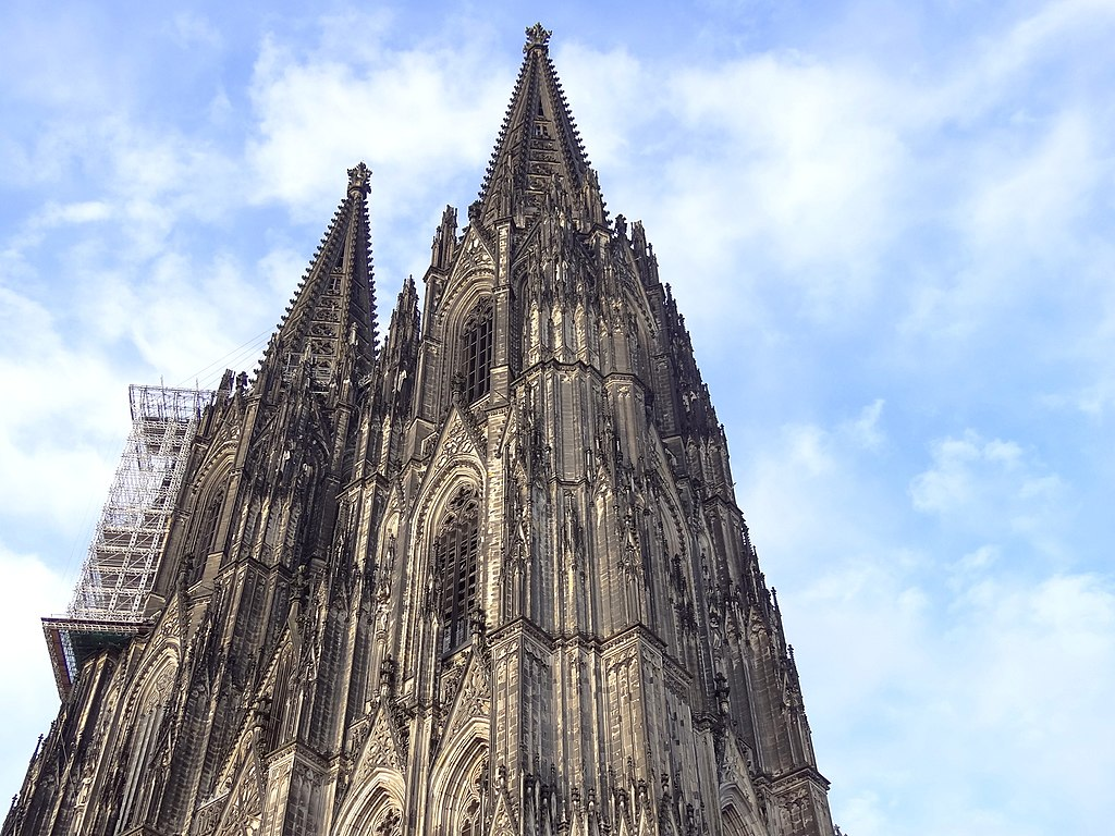 Facade of Cathedral - Köln (Cologne) - Germany - 02