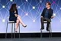 Facebook F8 Developer's Conference 2017 James Gunn and Fidji Simo (34005380311).jpg