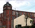 Facit Mill, Market Street, in Facit, Whitworth, Lancashire in 2007.jpg