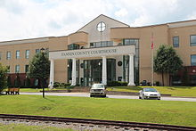 Fannin County, Georgia Courthouse.JPG