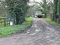 Farm road to Great Pett Farm. - geograph.org.uk - 323686.jpg