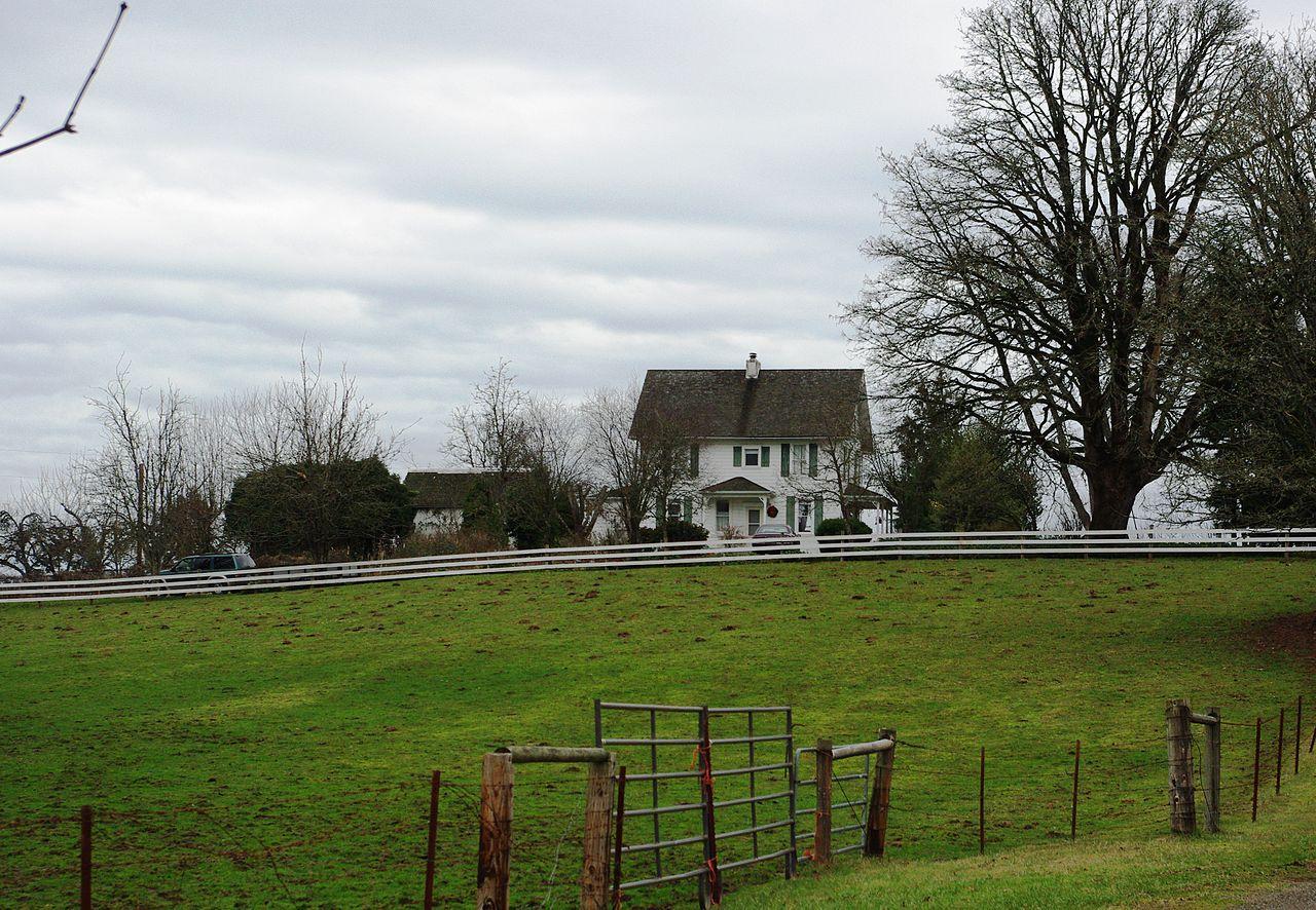 File Farmhouse Helvetia Oregon Jpg Wikimedia Commons