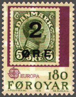 Europa postage stamp
