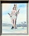 Feistritz im Rosental Sankt Johann Pfarrkirche Heiliger Johannes Wandbild des Heiligen Sebastian 18102011 229.jpg