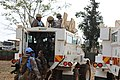 Female combat troops of South African Contingent in MONUSCO on robust foot and moblile patrols 04.jpg