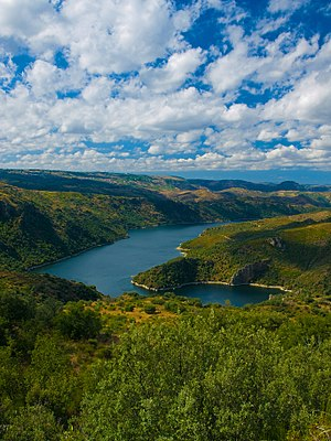 Arribes del Duero Natural Park - Image: Fermoselle, Los Arribes