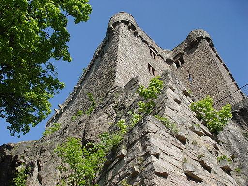 Festungsmauer Hohenbaden