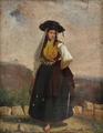 Figura feminina em traje regional (1859) - Francisco José Resende.png