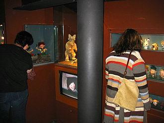 Ivo Caprino - Original dolls used in Ivo Caprino's films which are exhibited in the Norwegian Film Museum in Oslo.