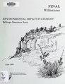 Final wilderness environmental impact statement for the Billings Resource Area, Billings, Montana (IA finalwildernesse00unit).pdf