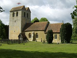 Anglo-Saxon turriform churches - Image: Fingest Church