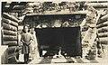 Fireplace at Mountaineers lodge, Rockdale, Washington, June 21, 1914 (MOHAI 5012).jpg