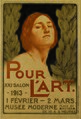 Firmin Baes - Poster for the 1913 exhibition of Pour l'art.jpg