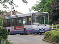 First Leeds bus, Quarry House, Leeds (30th May 2014).jpg