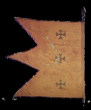 Stefan Gavrilović - Image: First Serbian Uprising early 1804 flag