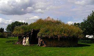 Flag Fen - Image: Flag Fen Bronze Age Roundhouse