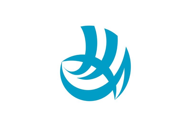Flag of Shimonoseki, Yamaguchi.png