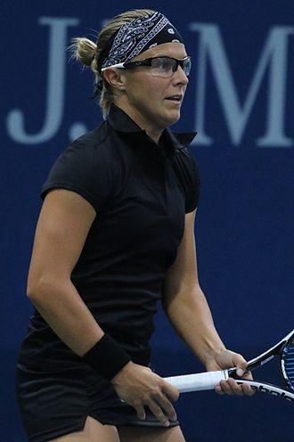 Kirsten Flipkens - Flipkens at the 2016 US Open
