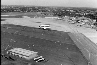 Hamburg Airport - Hamburg Airport in 1968