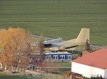 Flugplatz Asmusstedt mit Transall C-160 50+07 (Ballenstedt).jpg