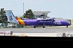 Flybe, G-PRPC, Bombardier Dash 8 Q400 (35633072091).jpg