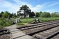 Footpath crossing the tracks (geograph 5405432).jpg