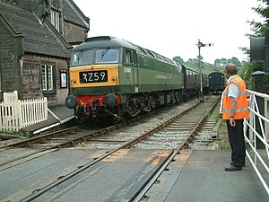 Footplate Experience Course, Churnet Valley Railway - geograph.org.uk - 206488.jpg