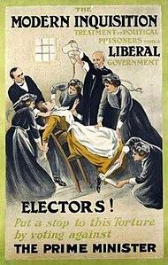 Which option best describes suffragists