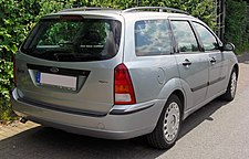 Ford Focus I Turnier Facelift 20090612 rear.JPG