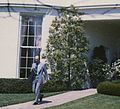 Ford walking on sidewalk between Oval Office and South Driveway 1B.jpg