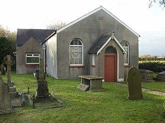 Nash, Newport - Former Baptist Chapel, Pye Corner