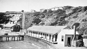 Fort Nepean - Fort Nepean in 1933. (Australian War Memorial)