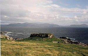 Muck, Scotland - Caistel nan Duin Bhan