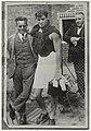 Foto van een foto uit 1928 van Johnny Weismuller (Tarzanfilms) die trainde in de Houtvaart in Haarlem voor de Olympische Spelen in Amsterdam. NL-HlmNHA 54020652.JPG