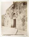 Fotografi på Davids Dörr i Jerusalem - Hallwylska museet - 104392.tif
