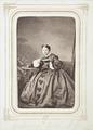 Fotografiporträtt på Esther von Hallwyl, f. von May, 1860-talet - Hallwylska museet - 107811.tif
